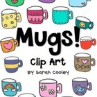 Mugs!  Clip Art {for Personal or Commercial Use}