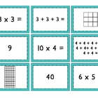 Mult. Match Up  {Multiplication, Repeated Addition, and Ar