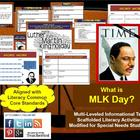 Multi-Leveled Complex Text: What is MLK Day? RI7.10