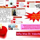 Multi-Leveled: ST. VALENTINE Constructed Response Practice