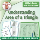 Multi-Match Cards 6G: Understanding Area of a Triangle