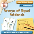 Multi-Match Game Cards 2A: Arrays of Equal Addends (CCSS 2.OA.4)