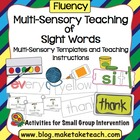 Multi-Sensory Teaching of Sight Words