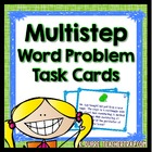 Multi-Step Word Problems (24 Task Cards)
