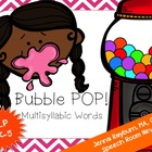 Bubble Pop! Multisyllabic Gum Game: Speech Therapy