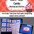 Multi-Task Cards {Restaurant Edition}