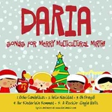 Multicultural Holiday CD - Celebrate The Season by DARIA (