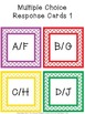 Multiple Choice Classroom Cards