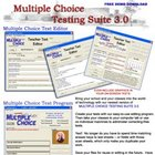 Multiple Choice Testing Suite for Windows PC