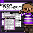 Multiple Intelligences Choice Boards