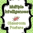 "Multiple Intelligences Posters in ""Smart"" form"