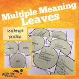 Multiple Meaning Leaves
