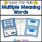 Multiple Meaning Words: Assessments, Games, and Worksheets