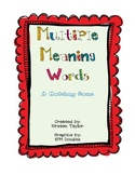 Multiple Meaning Words Matching Game