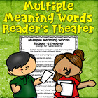 Multiple Meaning Words Reader's Theater (students write pa