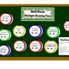 Multiple Meaning (m&m) Words Bulletin Board