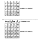 Multiples and Patterns Booklet