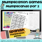 Multiplicando Por 2 - Spanish Multiplication Math Games/Le
