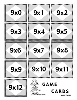 Multiplicando Por 9 - Spanish Multiplication Math Games/Le