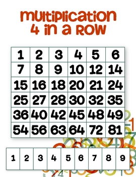 Multiplication 4 in a Row