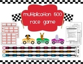 Multiplication 500 Race Game for Math Centers