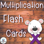Multiplication Basic Facts 0-12 Flash Cards, Timed Test, T