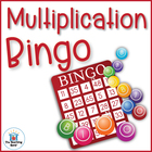 Multiplication Bingo Math Game Covers Factors 0-12 ~ Common Core