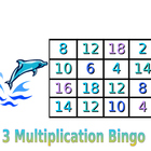Multiplication Bingo - Ocean Theme