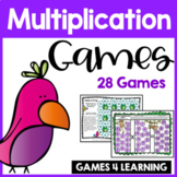 Multiplication Board Games With Monkey Friends