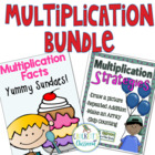 Multiplication Bundle; Strategies and Fact Mastery for 2nd