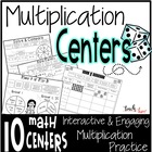 Multiplication Centers and Activity Pack {3rd grade}