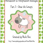 "Multiplication - Circles and ""Spring Things"" Practice Book"
