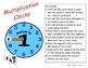 Multiplication Clocks 1-12