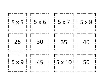 Multiplication Concentration (4 and 5)