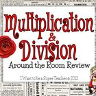 Multiplication &amp; Division Around-the-Room Review Activity