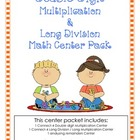 Multiplication & Division Center Activities