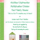 Multiplication /Division an Addition and Subtraction Fact 