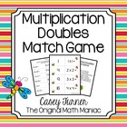 Multiplication Doubles Match Game