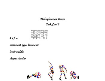 Multiplication Fact Dance