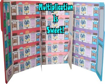 Multiplication Facts 0-12 Jumbo-Lapbook Activities