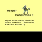 Multiplication:  Facts 1-4