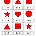 Multiplication Facts Draw 3 Card Game