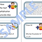 Multiplication Facts Game 3