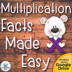 Multiplication Facts Made Easy Comprehensive Teaching Unit