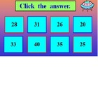 Multiplication Facts Powerpoint One