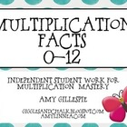 Multiplication Facts Practice 1-12 Mega Pack