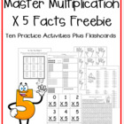Multiplication Facts X5 Practice Activities