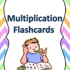 Multiplication Flashcard Set 0-12 Tables