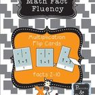 Multiplication Flip Cards - Math Fact Fluency