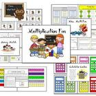 Multiplication Fun Math Fact Practice Packet